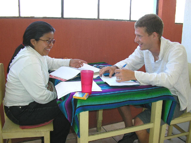 Dynamic classes only at Guatemalensis Spanish School.