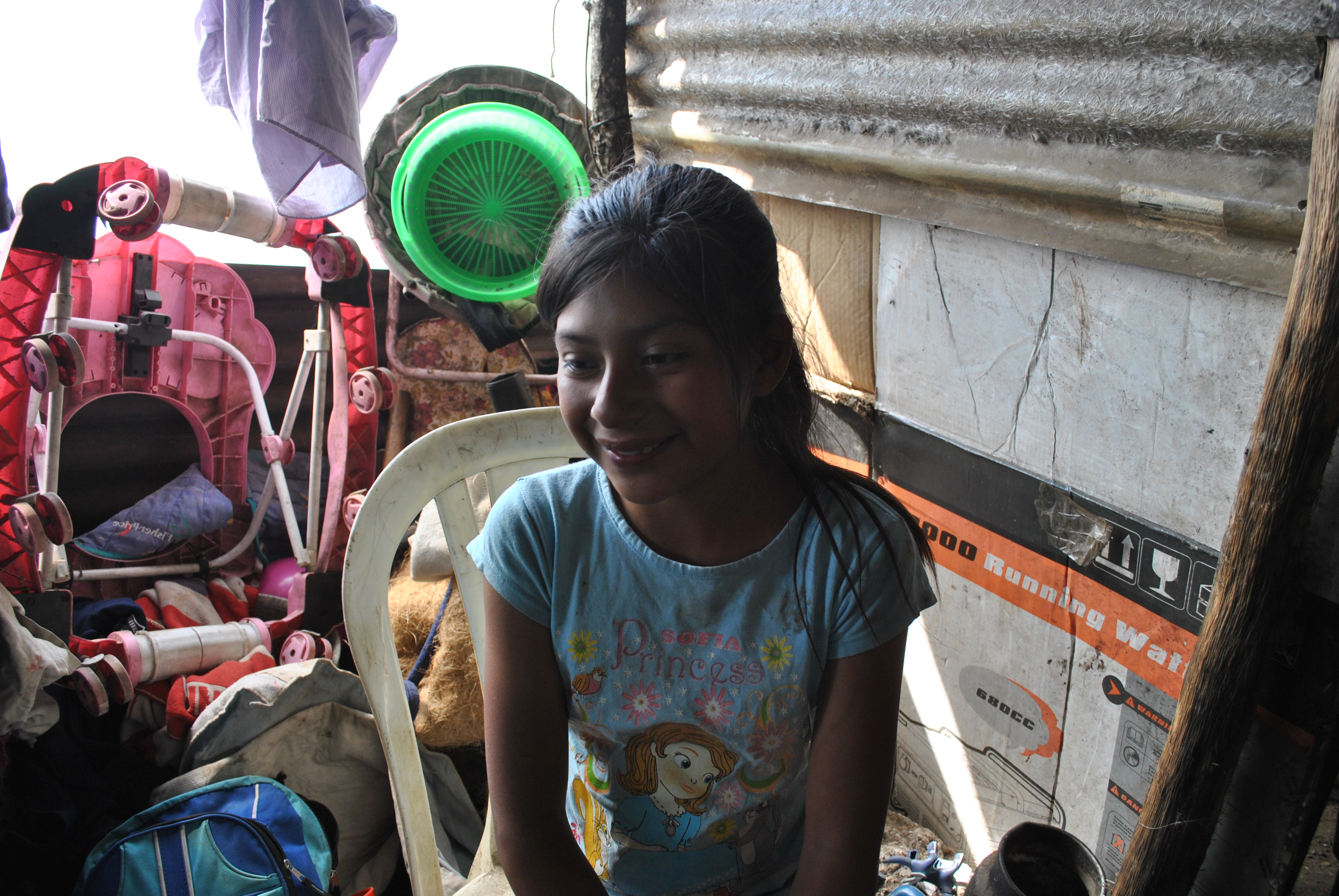 This girl can change her future if study, help us for help her to go the school.