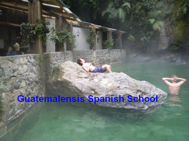 Enjoy a day in the hot springs and charge yourself of new energy.