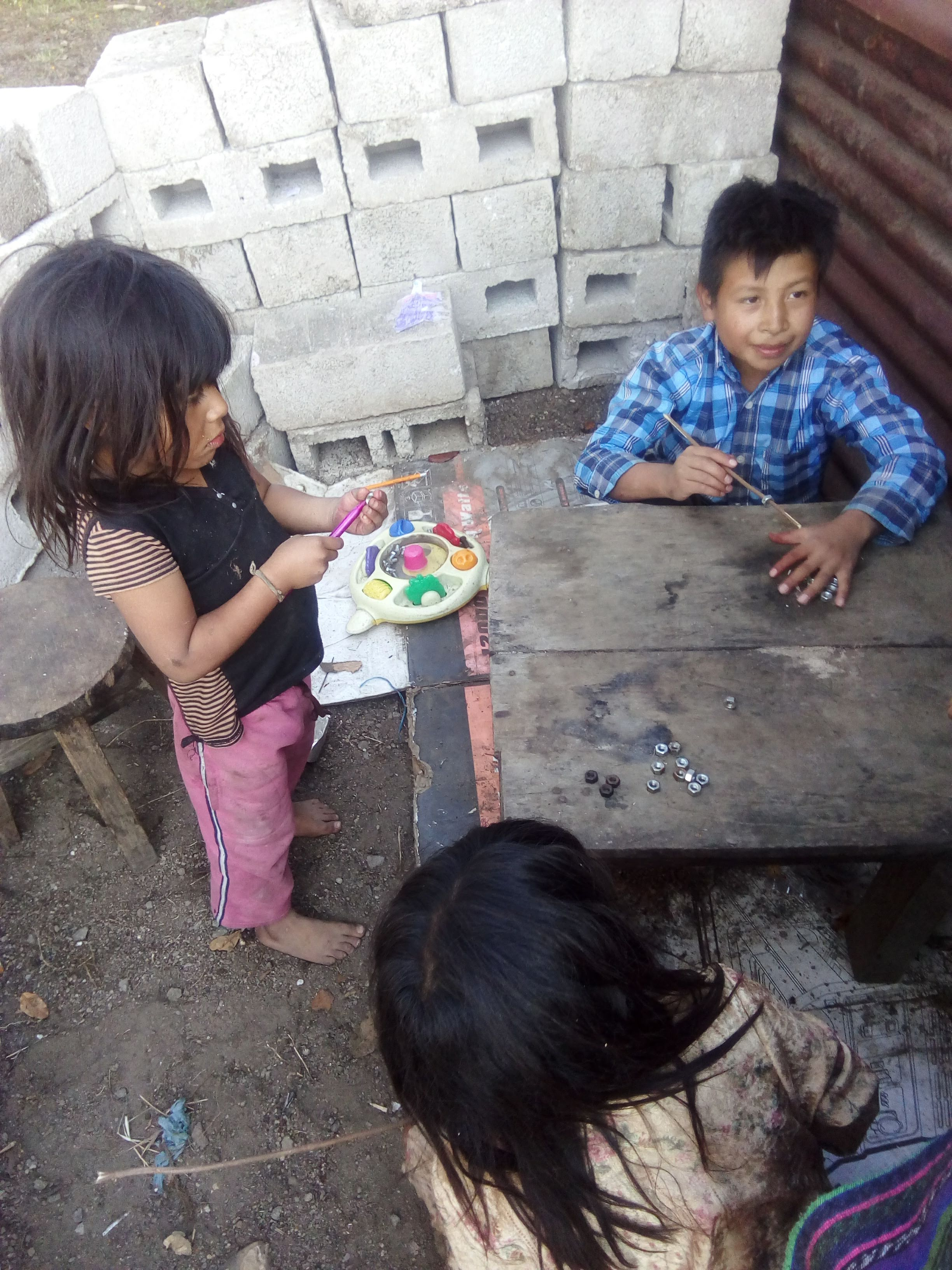 many times the children in Guatemala don't have the opportunity to go to the school, help us with our scholarships program studying spanish with us