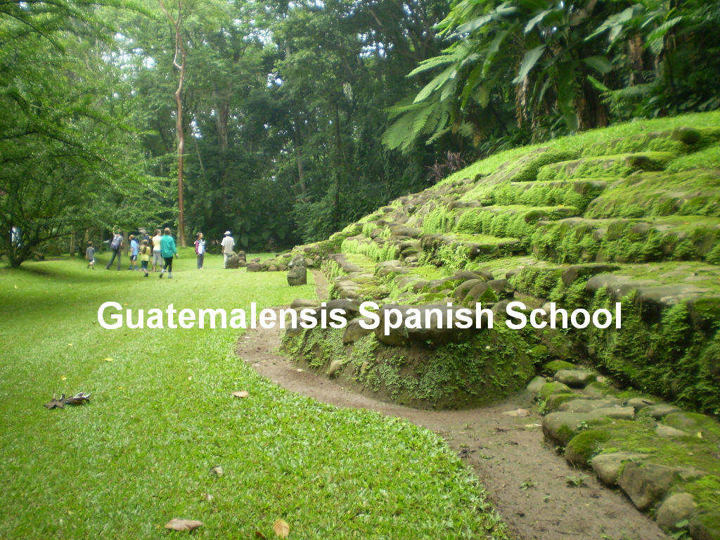 Guatemala is full of mayan archaeologial sites.