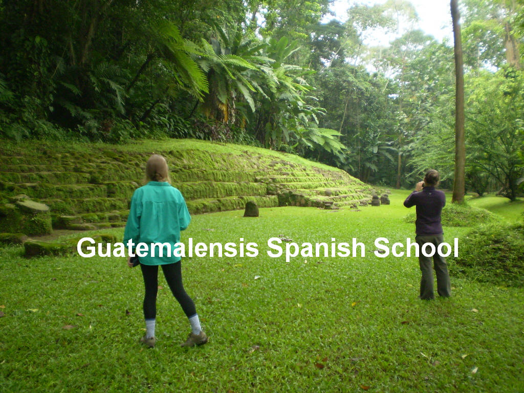 With our program at Guatemalensis Spanish School, you will learn a lot about the mayans.
