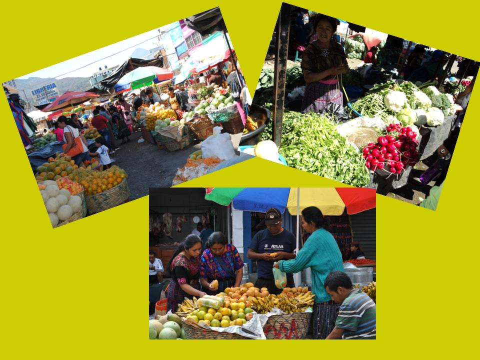 Only in Quetzaltenango you can see true indigenous markets.