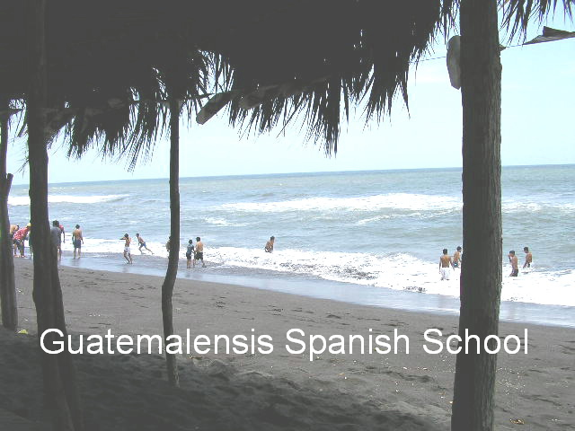 Enjoy the fresh air, and sunny days at the beach with Guatemalensis Spanish School