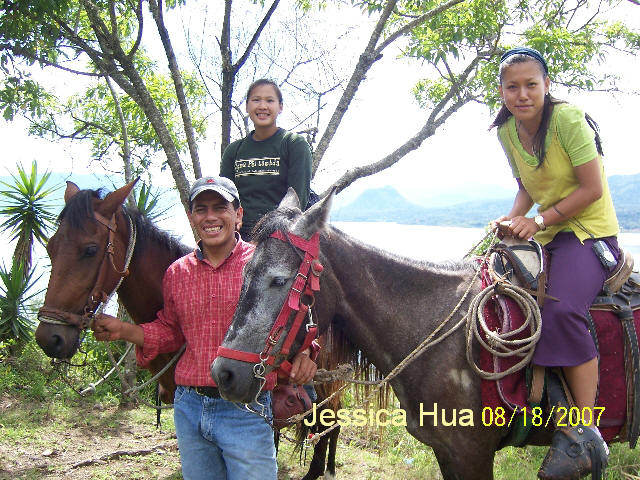 With the Guatemalensis Spanish Program you can experience extreme sports such as horseriding.