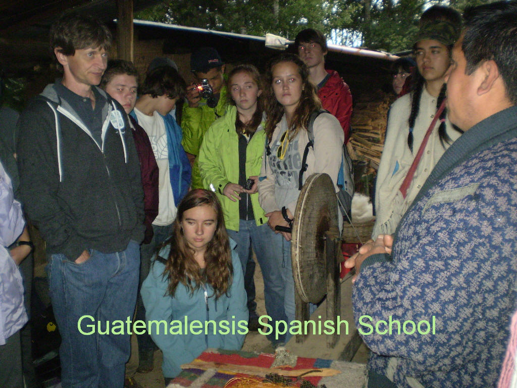 High School and University students experience the authentic indigenous culture of Guatemala.