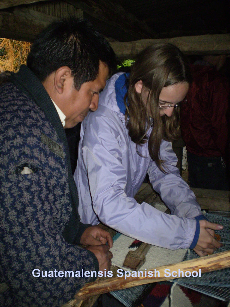 First hand knowledge of the guatemalan culture.