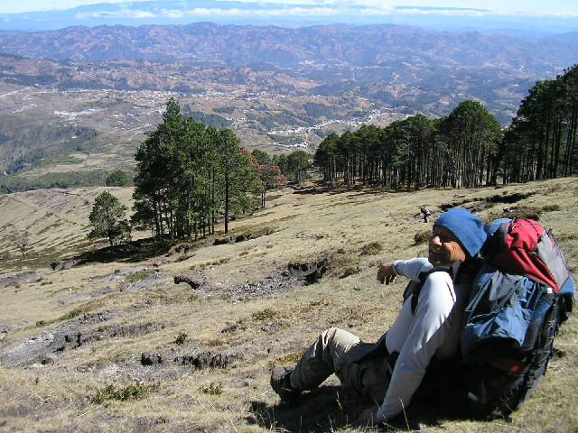 Mountaineering with Guatemalensis Spanish School
