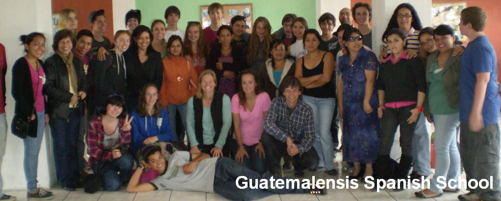 At Guatemalensis Spanish School you will find a friendly atmosphere and all the ideal conditions for learn the spanish language in the best way.