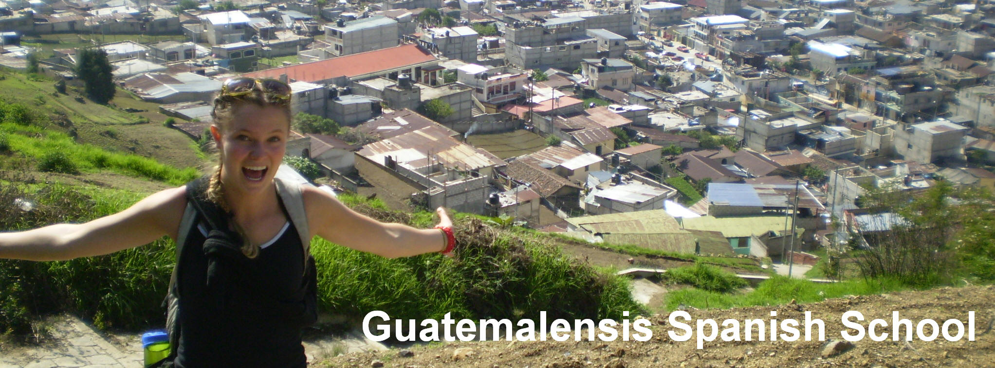 Knowing the western highland of Guatemala on foot.