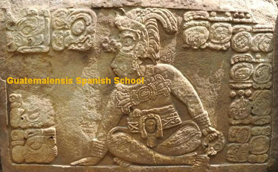 There are many mayan archeological sites in the western highland of Guatemala, Guatemalensis Spanish School will bring you there.