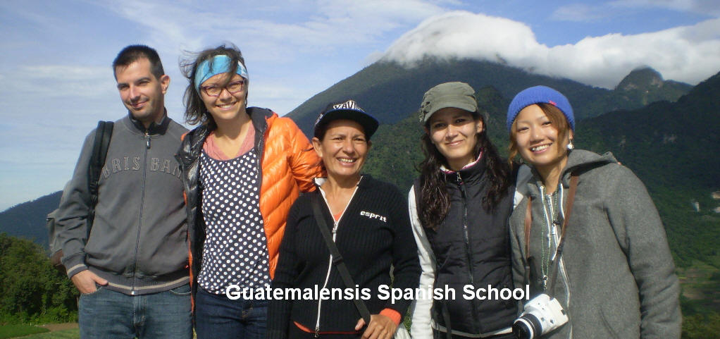 Motivated students in our program of spanish language and cultural immersion.