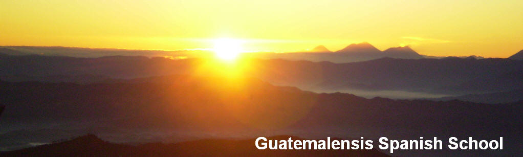 Our spanish students use their free time to experience the adventure and to enjoy the amazing landscapes of Guatemala.